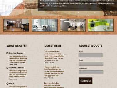 Construction / Real Estate Template