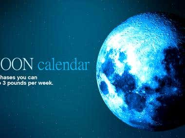 Android app: Moon diet calendar