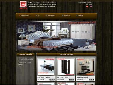 Furniture selling website