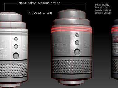 Lazer ammo Crate