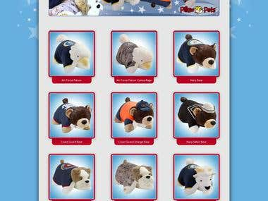 Operation Pillow Pets WordPress Site