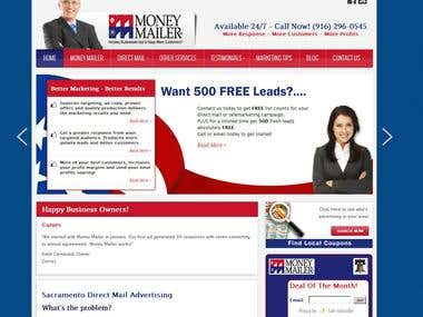 Money Mailer Website