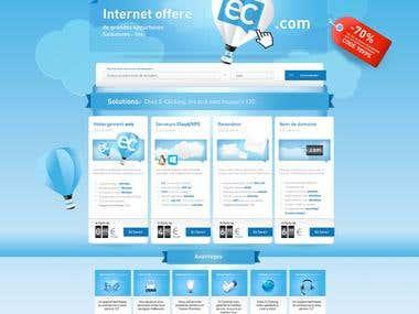 hosting services webiste