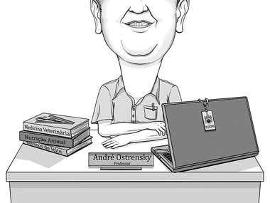 Black and White caricature!!!