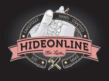 Corporate identity for Hideonline