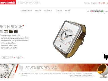 Vavawatch - Ecommerce Storefront