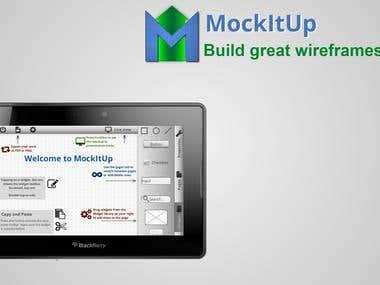 MockItUp - tablet based wireframning app