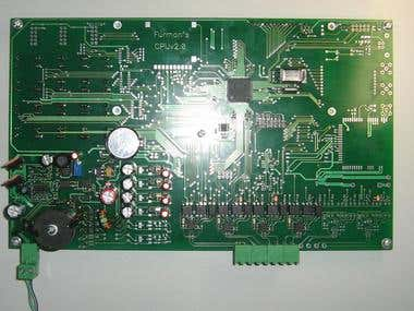LPC1766 CortexM3 based board