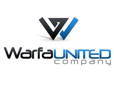 Warfa United Logo Design