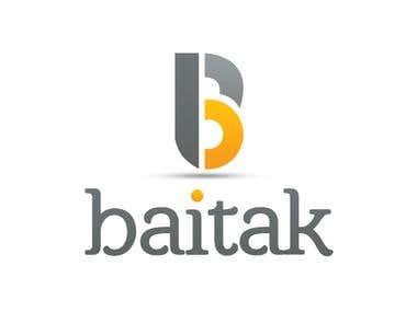 Baitak Logo Design