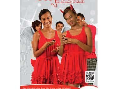 Digicel Print Advertisement