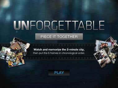 CBS Unforgettable Games