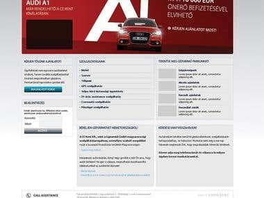 Audi A1 campaign
