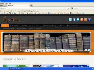 Joomla based site creation
