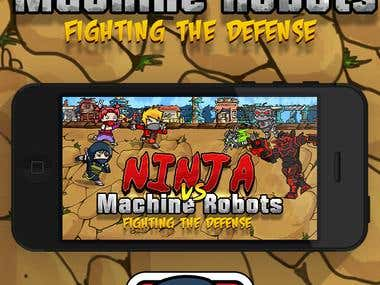Ninja vs Machines Game App
