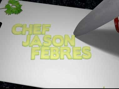 Chef Jason Febres Animation