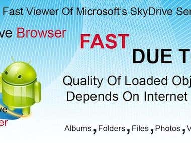 SkyDrive Browser Pro