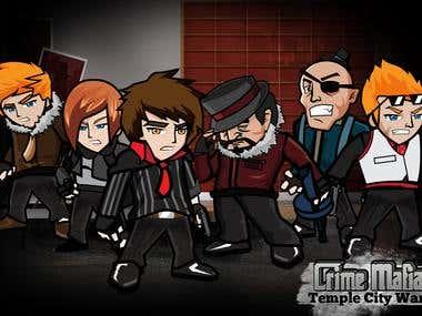 Crime Mafia Game App