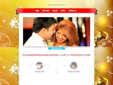 Marriage Website