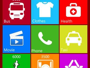 Pocket Expense for Windows Phone