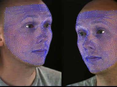 Tracking Facial Features (University of Surrey)