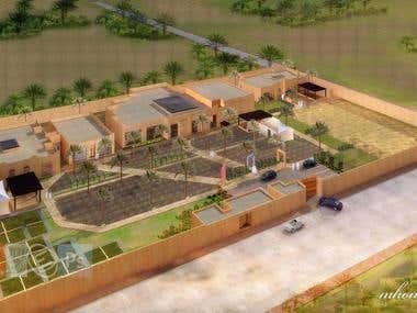 Al-Rajhi Straha resort Jubailah K.S.A