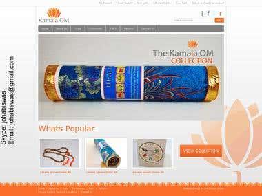 E-commerce web site development and management.
