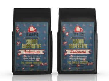 packaging design / coffee
