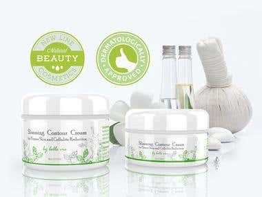label design / cosmetic
