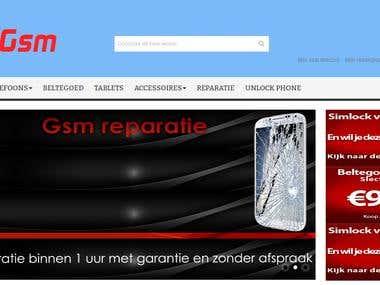 Magento site ( Nertherlands Customer)