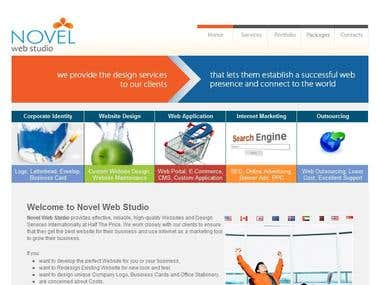 Novel Web Studio - 1