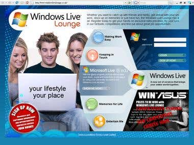 Windows Live Lounge