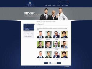 Verve Website Design
