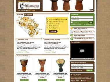 African Drums Store