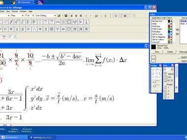 math typing