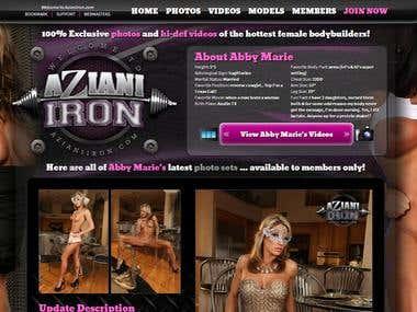 XXX membership website - Azianiiron.com