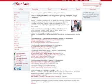 www.fastlane.si website translation
