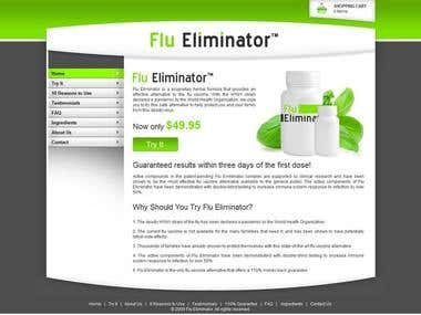 Swine Flu Medicine Website