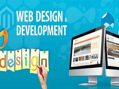 Interactive Web Designing and Development.