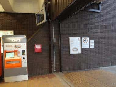 UK Metro station