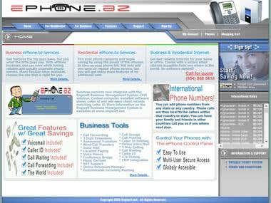 Telcom Website