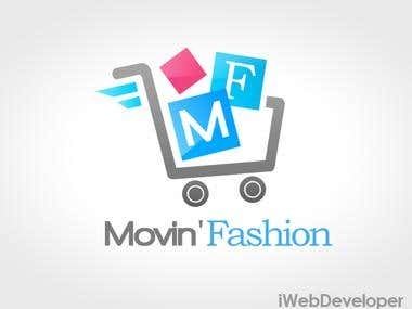 MovinFashion Logo Design