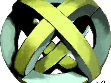 Logo design artwork