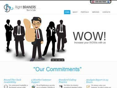 CMS Website for Software Firm