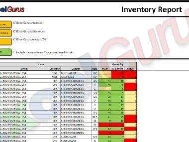 VBA based Excel program.