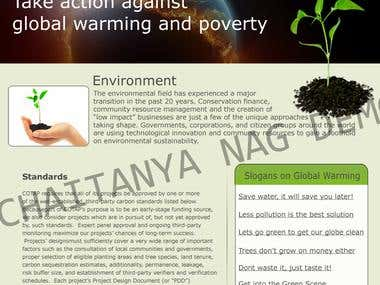 Webdesigning Demo work 1