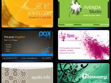 Visting Card Design