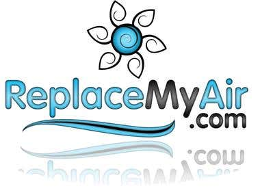 Logo design for ReplaceMyAir.com