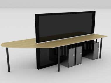 Realistic Desk