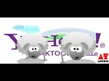 Yahoo Sheep Animation